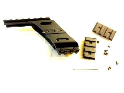 airsoft gun pistol rail top bottom set