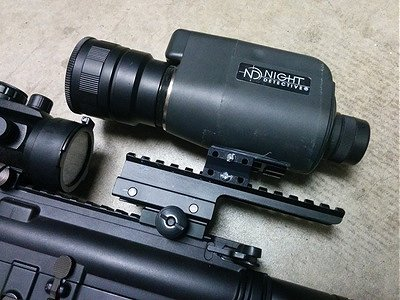 Mounting Night Vision Monocular to an Airsoft Rifle